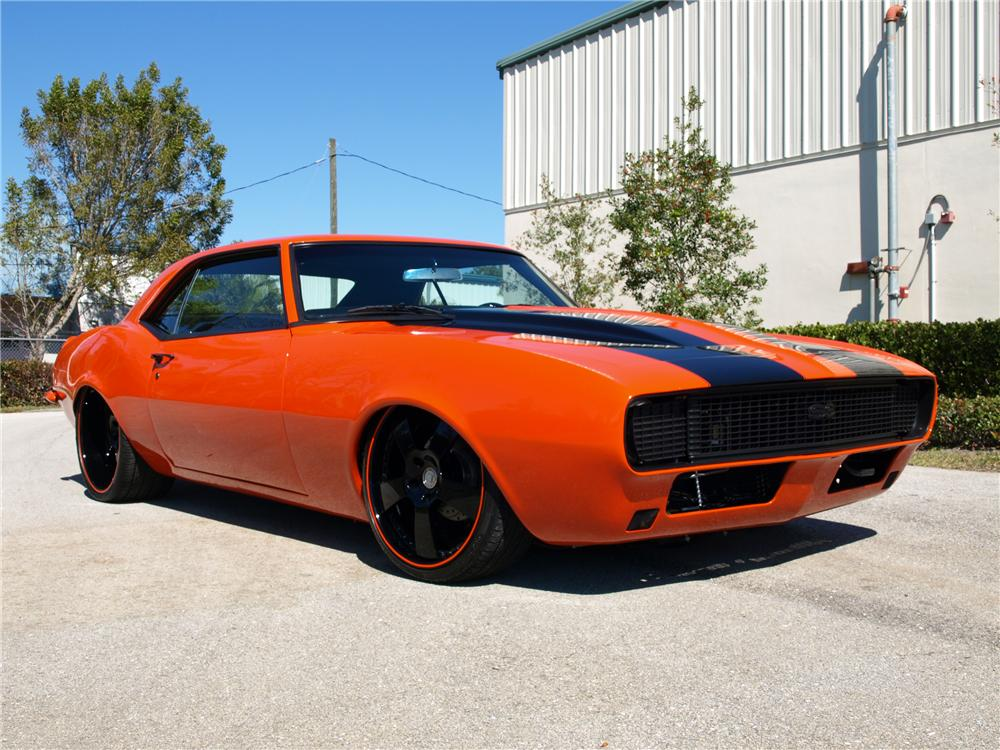 1968 CHEVROLET CAMARO CUSTOM COUPE - Front 3/4 - 88965