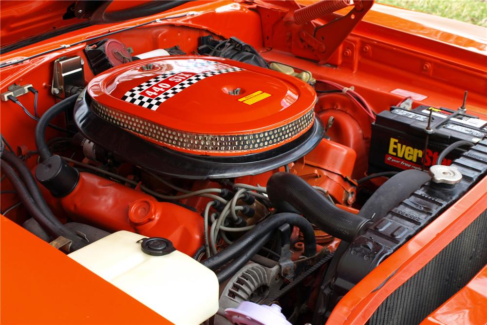 1970 PLYMOUTH ROAD RUNNER COUPE - Engine - 88966