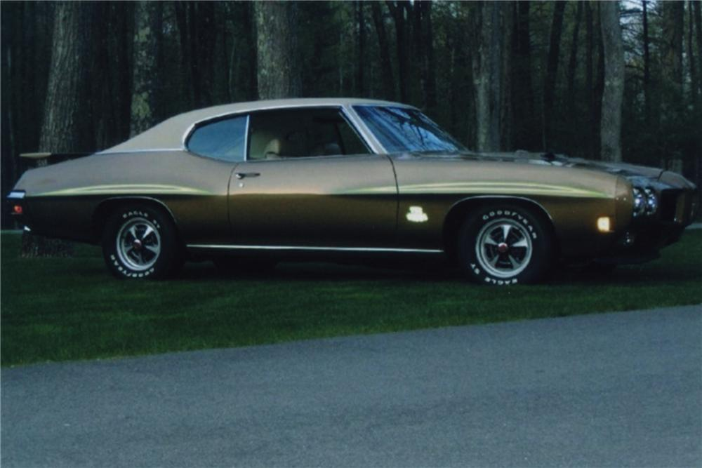 1970 PONTIAC GTO JUDGE 2 DOOR HARDTOP - Side Profile - 88969