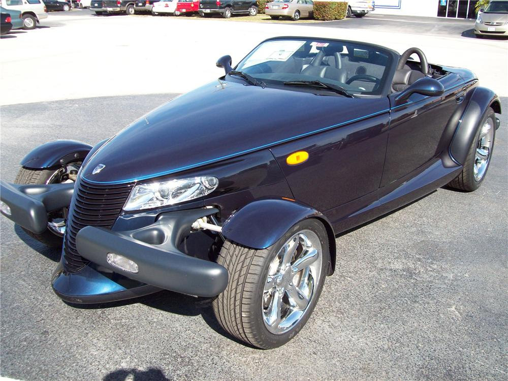 2001 CHRYSLER PROWLER 2 DOOR CONVERTIBLE - Front 3/4 - 88973