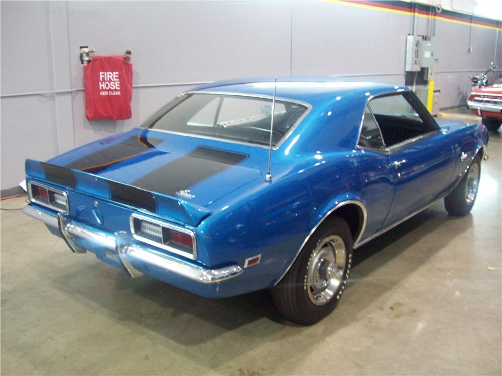 1968 CHEVROLET CAMARO Z/28 2 DOOR COUPE - Rear 3/4 - 88974