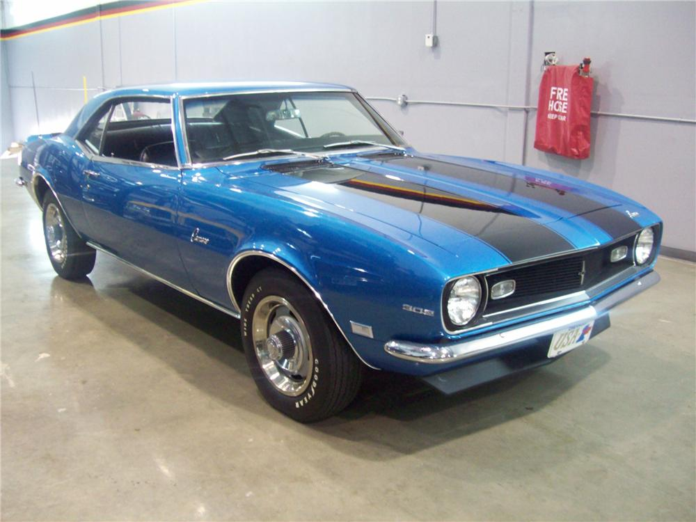 1968 CHEVROLET CAMARO Z/28 2 DOOR COUPE - Side Profile - 88974