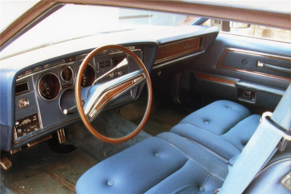 1974 FORD THUNDERBIRD 2 DOOR HARDTOP - Interior - 88983