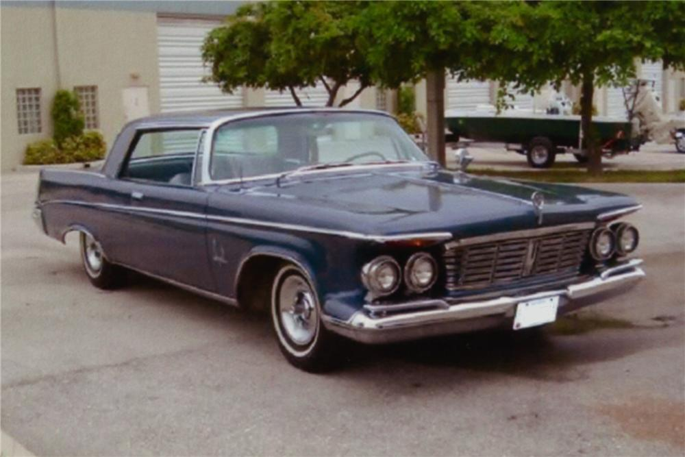 1963 CHRYSLER IMPERIAL 2 DOOR HARDTOP - Front 3/4 - 88984