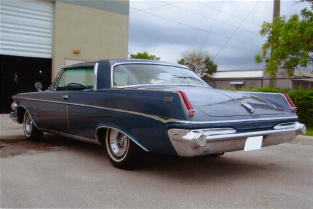 1963 CHRYSLER IMPERIAL 2 DOOR HARDTOP - Rear 3/4 - 88984