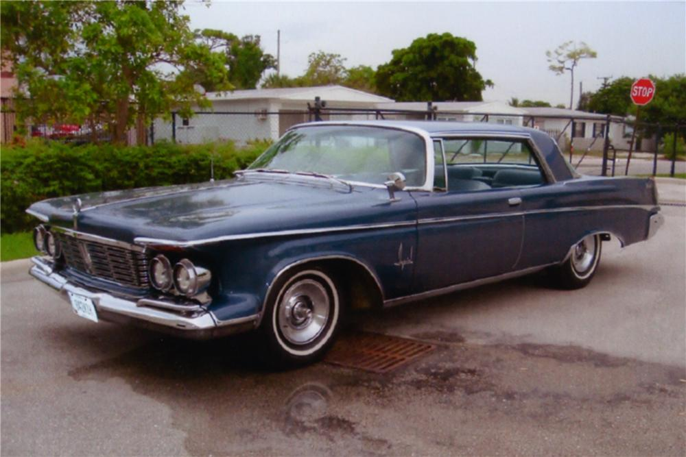 1963 CHRYSLER IMPERIAL 2 DOOR HARDTOP - Side Profile - 88984