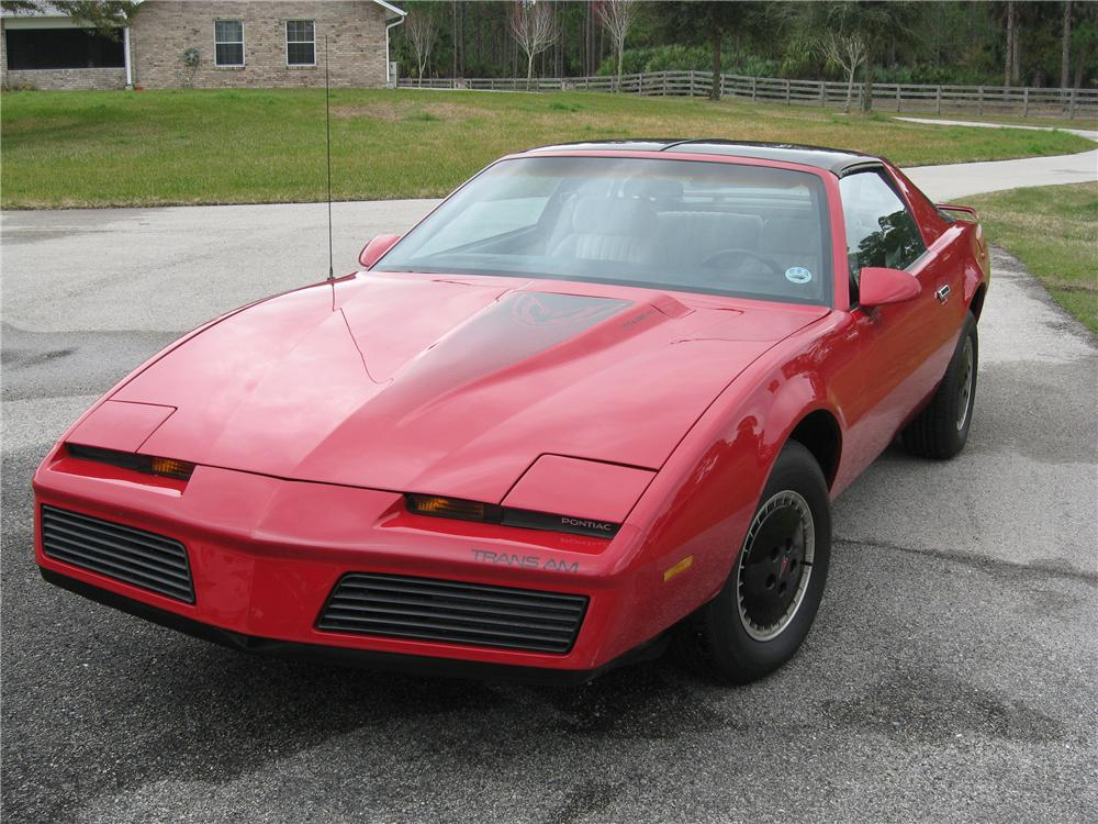 1984 PONTIAC TRANS AM 2 DOOR COUPE - Front 3/4 - 88986