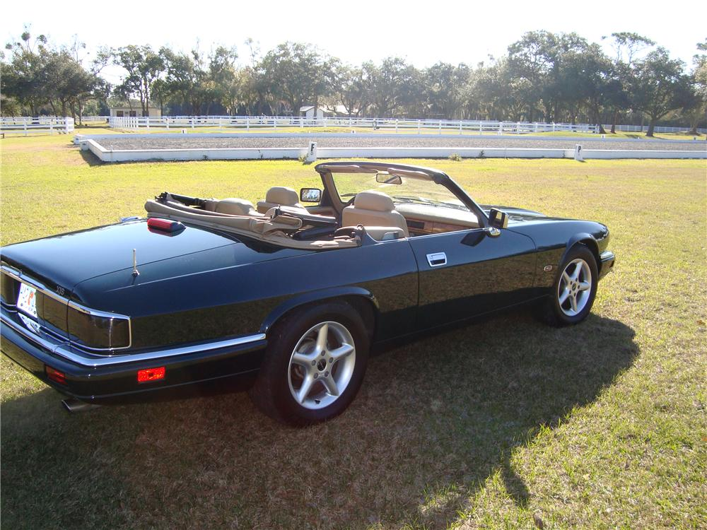 1995 JAGUAR XJS CONVERTIBLE   Side Profile   88988 ...
