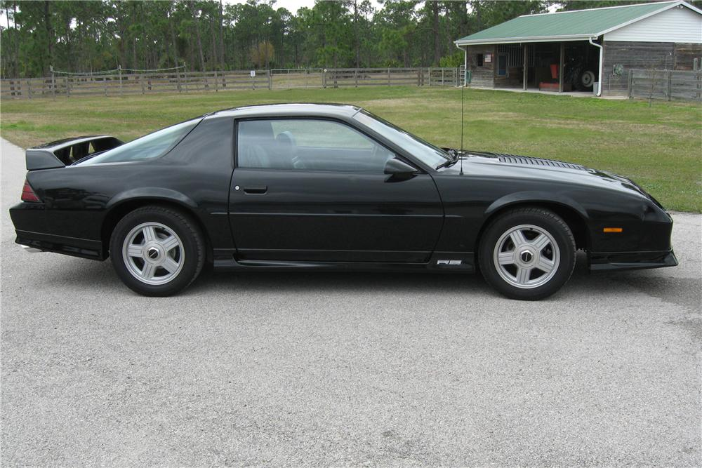 1991 CHEVROLET CAMARO RS 2 DOOR COUPE - Side Profile - 88989