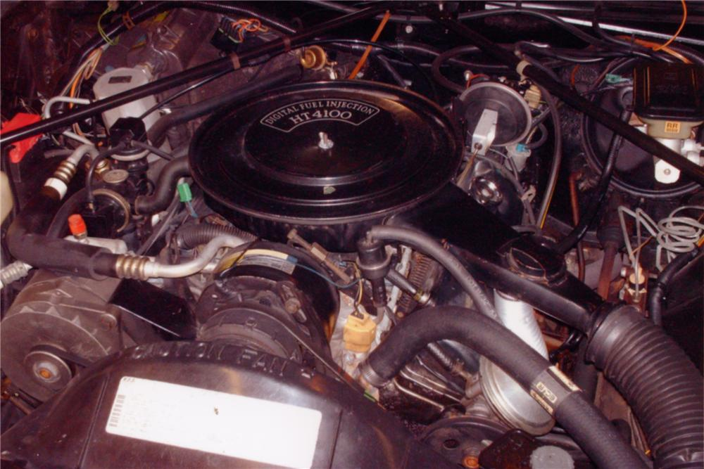 1982 CADILLAC SEVILLE 4 DOOR SEDAN - Engine - 88992