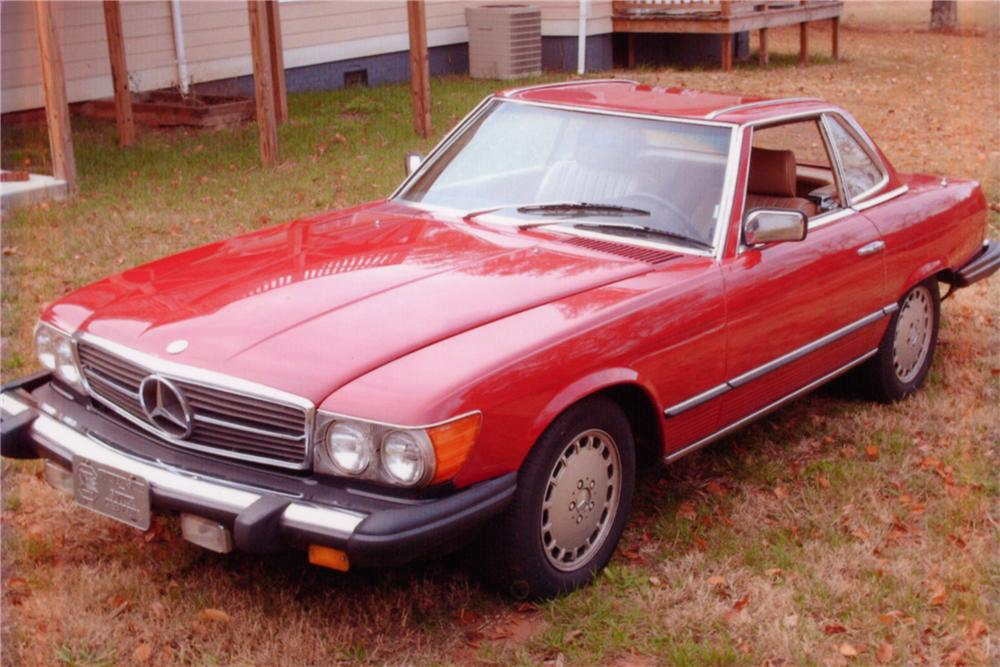 1983 MERCEDES-BENZ 380SL 2 DOOR CONVERTIBLE - Front 3/4 - 88993