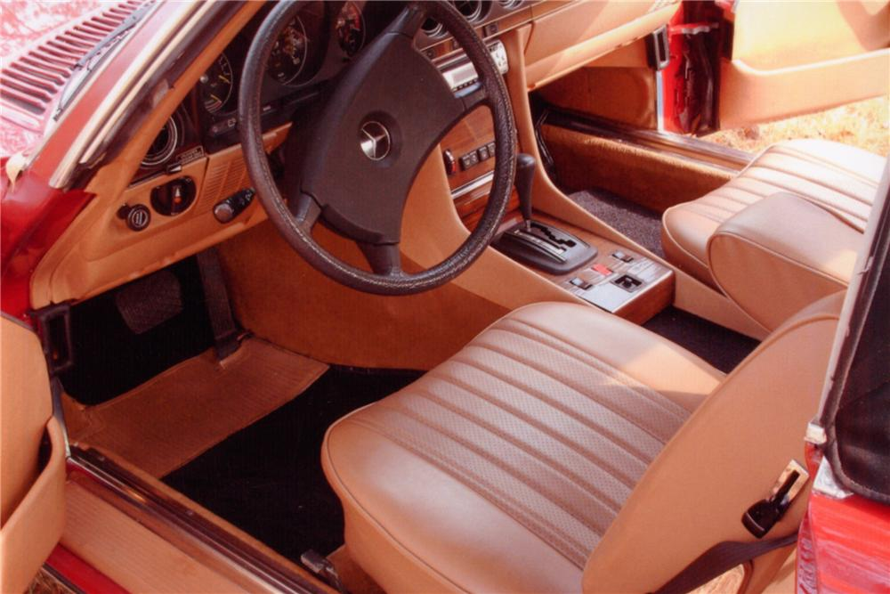 1983 MERCEDES-BENZ 380SL 2 DOOR CONVERTIBLE - Interior - 88993