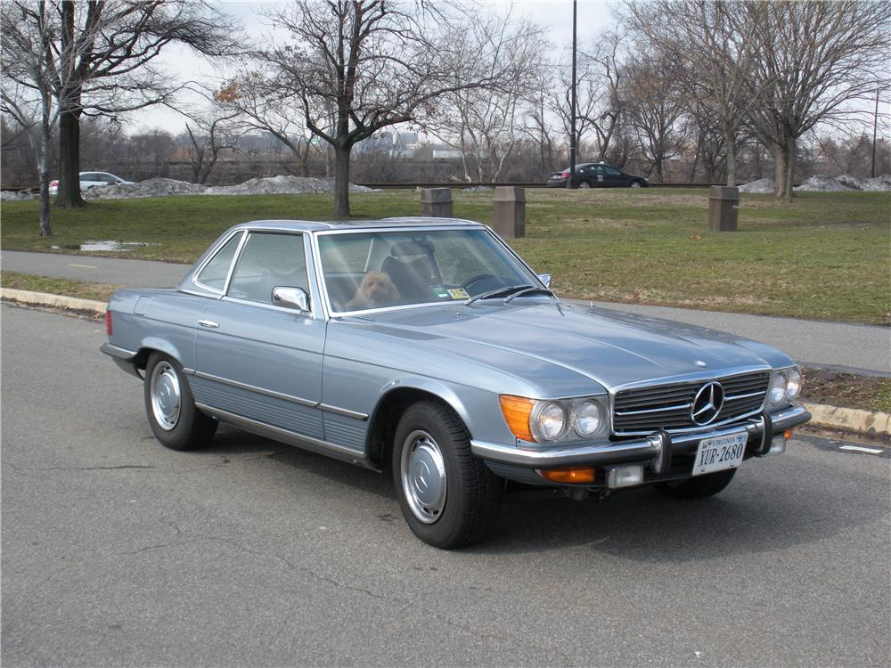 1972 MERCEDES-BENZ 350SL 2 DOOR CONVERTIBLE - Front 3/4 - 88994