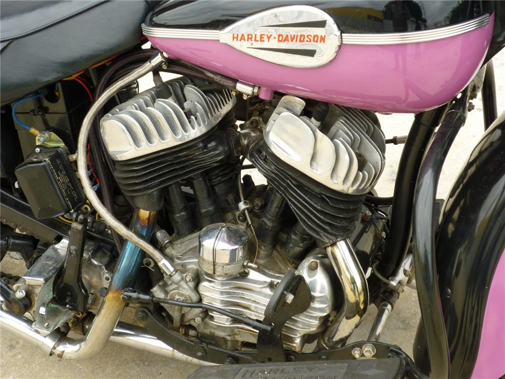 1958 HARLEY-DAVIDSON 45 MOTORCYCLE - Engine - 88995