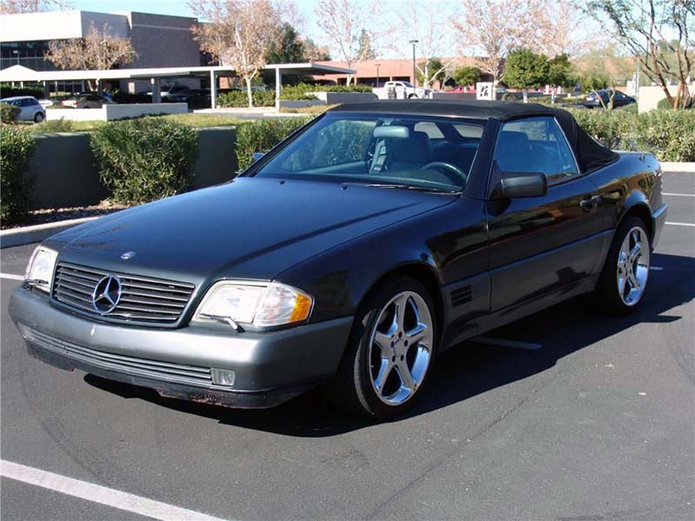 1991 mercedes benz 500sl 2 door convertible 88998
