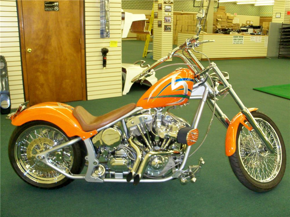 2003 CUSTOM MOTORCYCLE - Side Profile - 89001