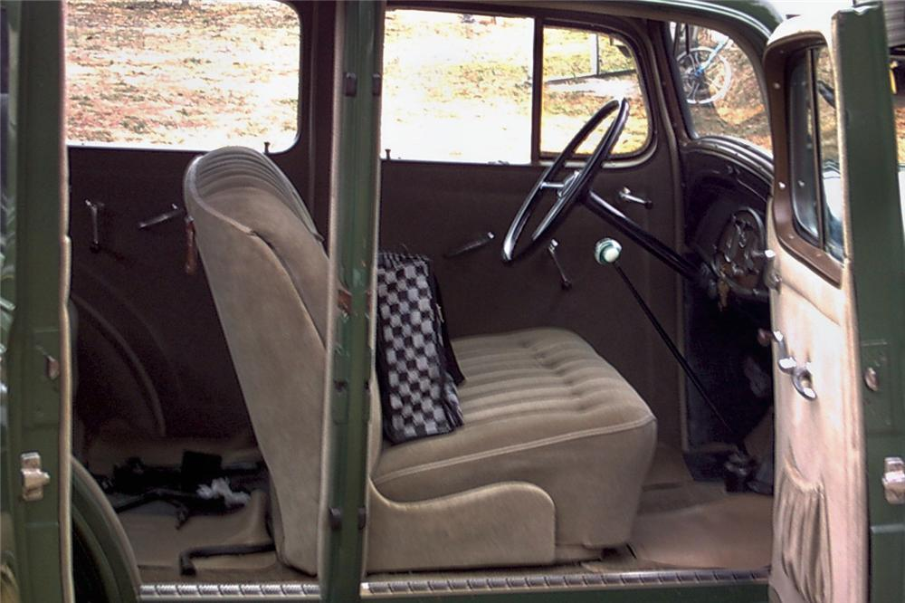 1935 CHEVROLET M49 STANDARD 4 DOOR SEDAN - Interior - 89004
