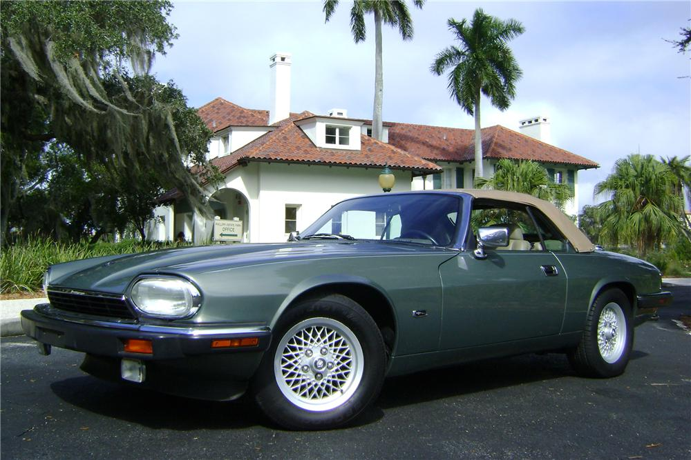 1993 JAGUAR XJS 2 DOOR CONVERTIBLE - Front 3/4 - 89005