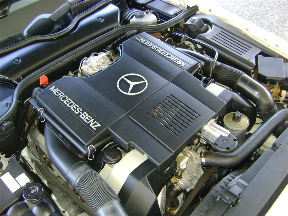 1992 MERCEDES-BENZ 500SL 2 DOOR CONVERTIBLE - Engine - 89007