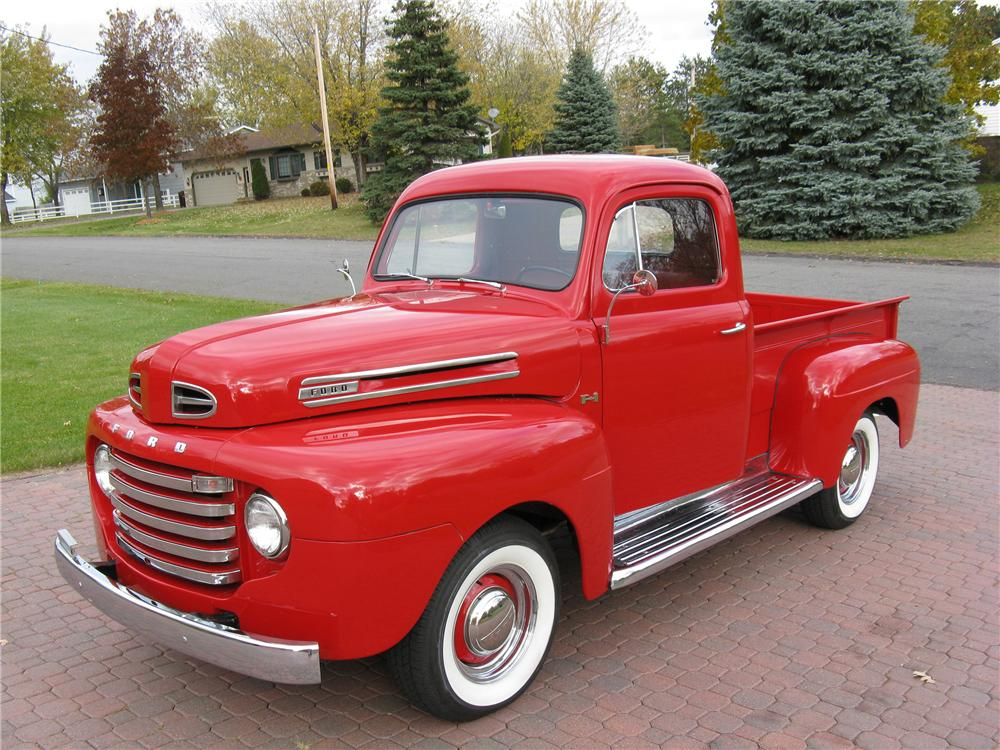 1948 FORD F-1 PICKUP - Front 3/4 - 89010