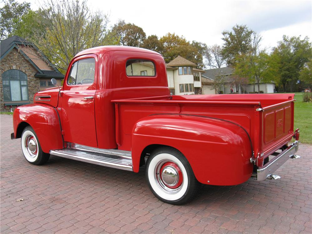 1948 FORD F-1 PICKUP - Rear 3/4 - 89010