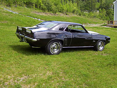 1969 CHEVROLET CAMARO Z/28 2 DOOR COUPE - Side Profile - 89011