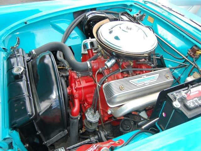 1956 FORD THUNDERBIRD 2 DOOR CONVERTIBLE - Engine - 89018
