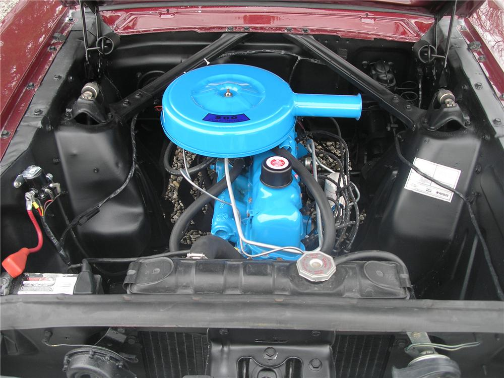 1965 FORD MUSTANG 2 DOOR COUPE - Engine - 89022
