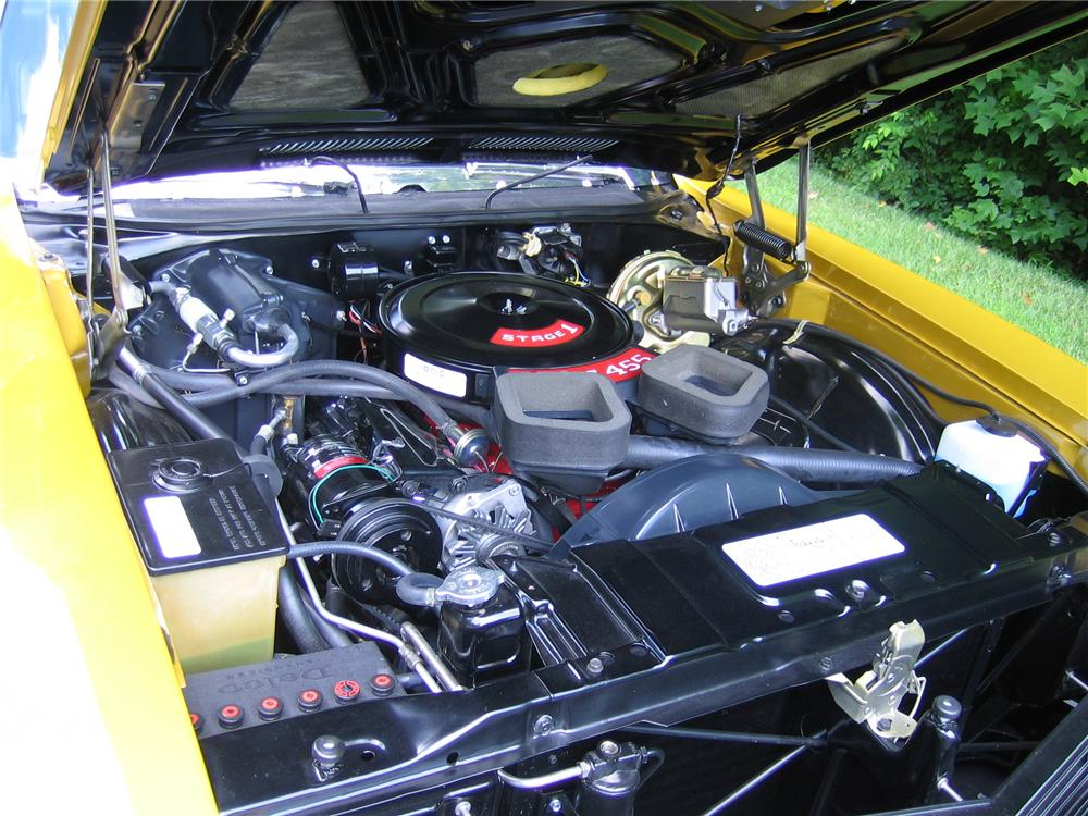 1971 BUICK GSX STAGE 1 COUPE - Engine - 89026