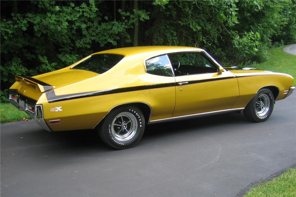 1971 BUICK GSX STAGE 1 COUPE - Side Profile - 89026