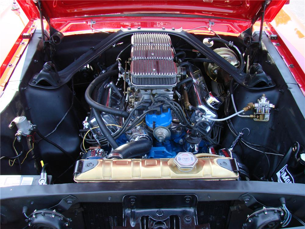1966 FORD MUSTANG CUSTOM 2 DOOR COUPE - Engine - 89034