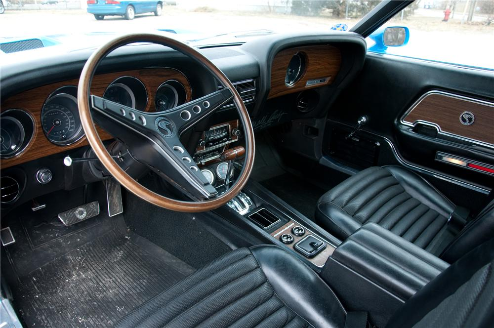 1969 SHELBY GT350 H FASTBACK - Interior - 89038
