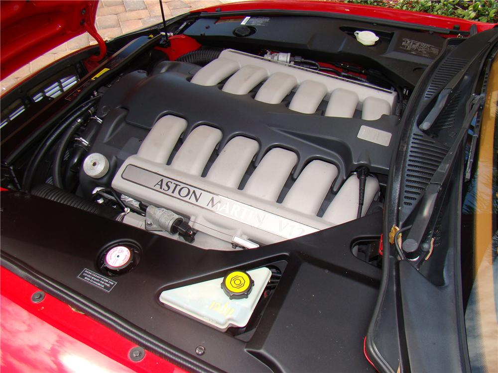 2001 ASTON MARTIN DB 7 VANTAGE VOLANTE CONVERTIBLE - Engine - 89041