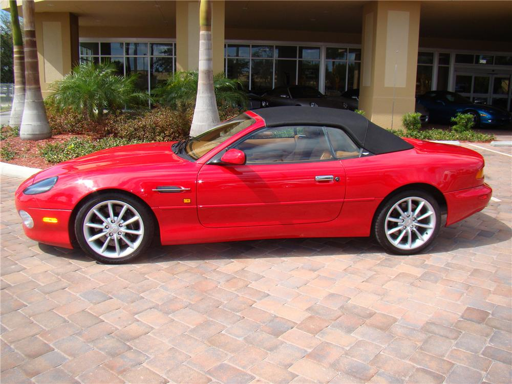2001 ASTON MARTIN DB 7 VANTAGE VOLANTE CONVERTIBLE - Side Profile - 89041