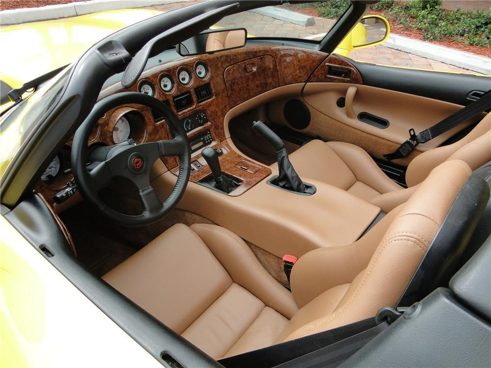 1995 DODGE VIPER RT/10 CONVERTIBLE - Interior - 89043