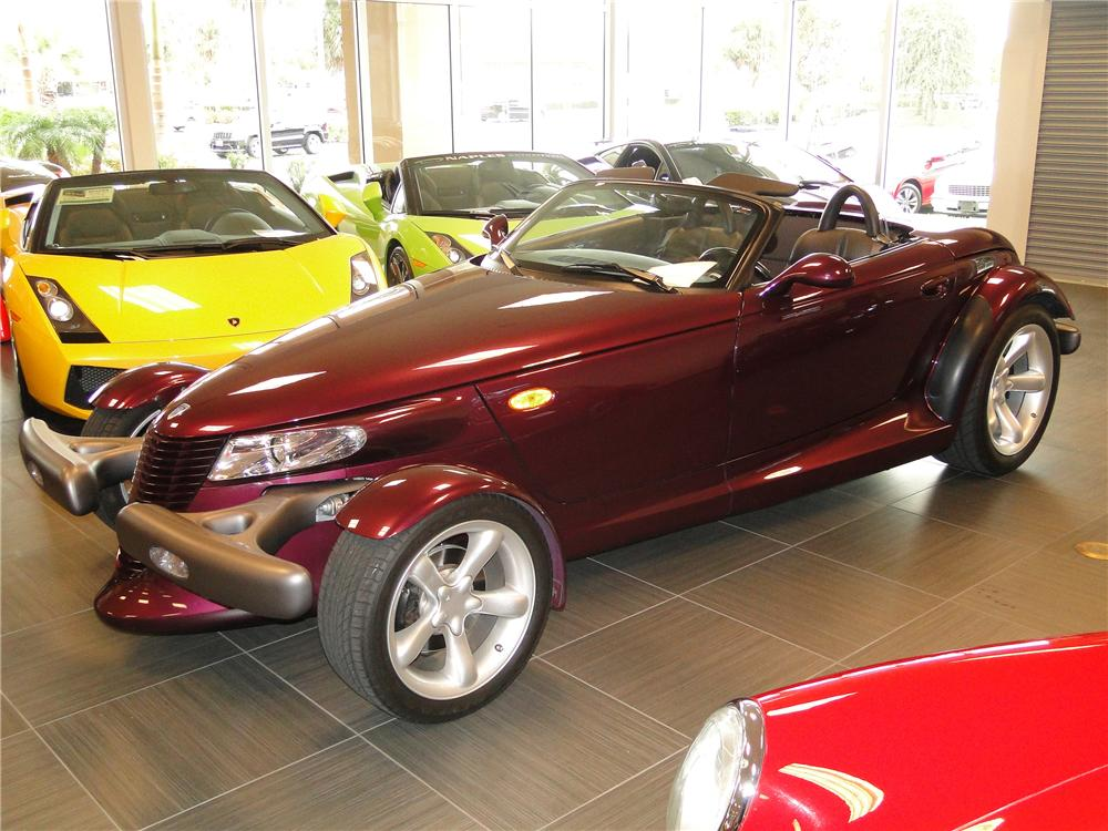 1999 PLYMOUTH PROWLER 2 DOOR CONVERTIBLE - Front 3/4 - 89045