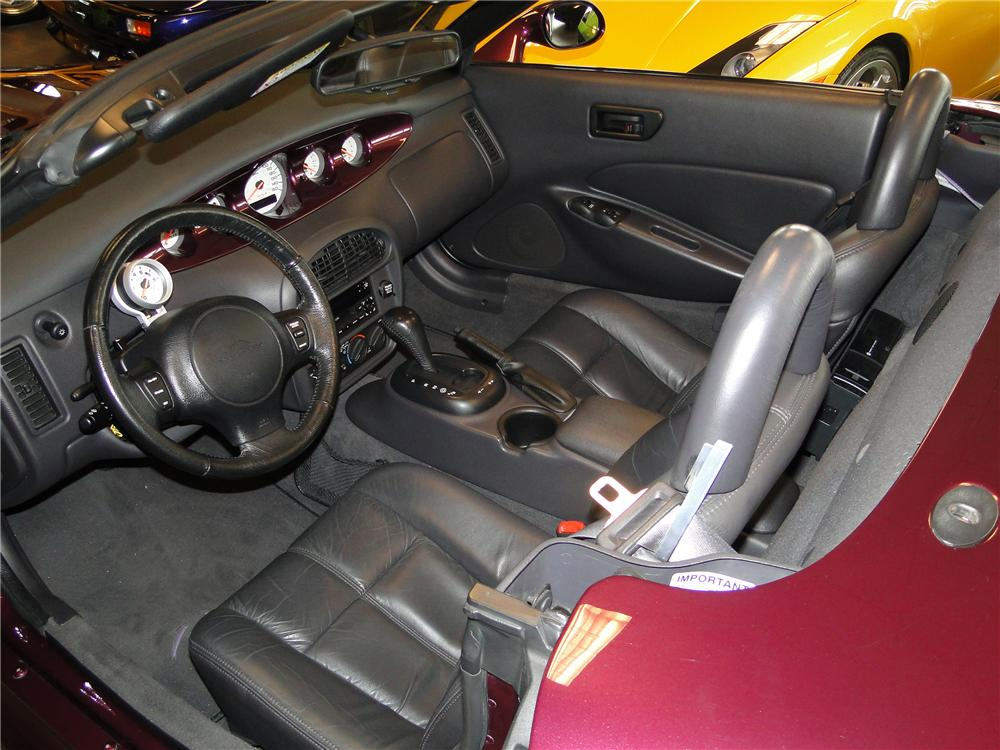 1999 PLYMOUTH PROWLER 2 DOOR CONVERTIBLE - Interior - 89045