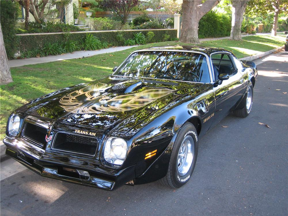 1976 PONTIAC TRANS AM COUPE - Front 3/4 - 89047