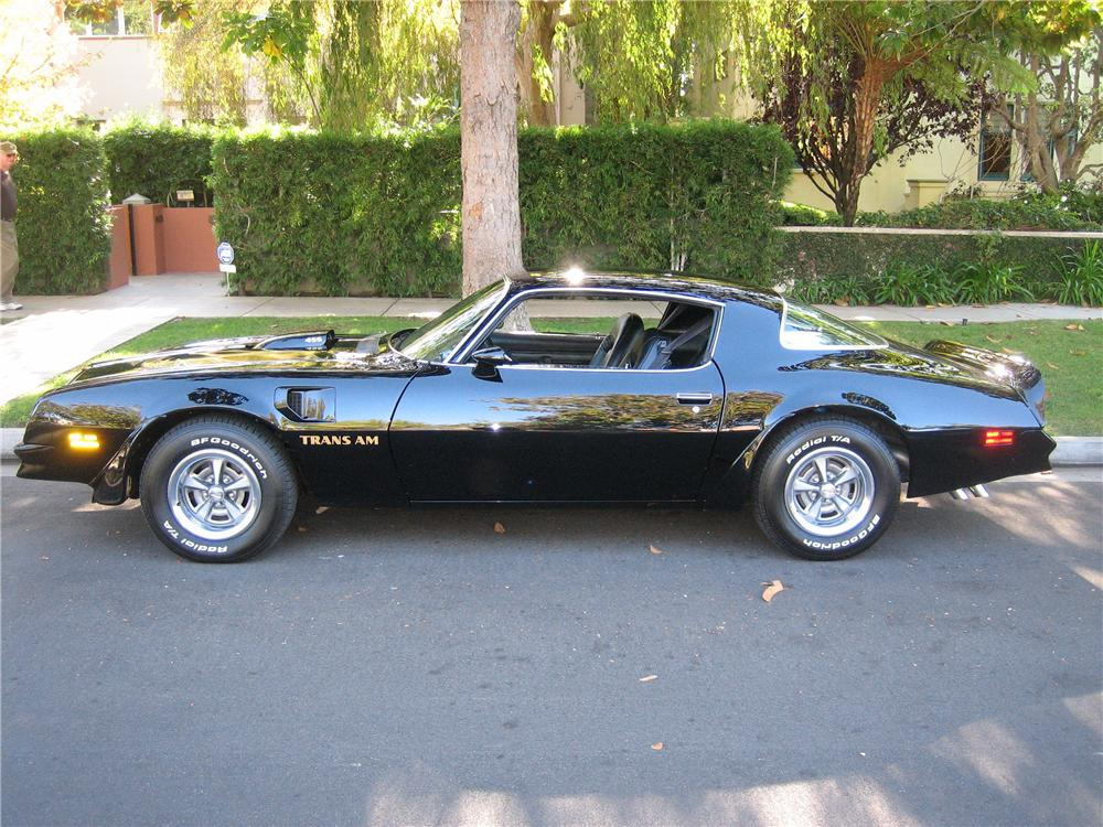 1976 PONTIAC TRANS AM COUPE - Side Profile - 89047