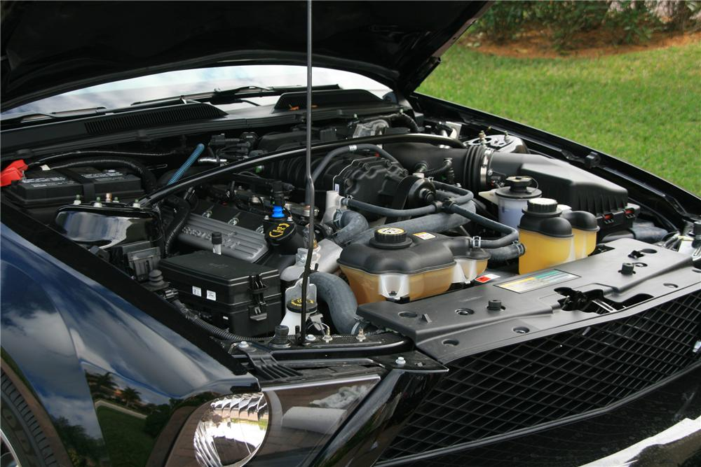2007 FORD SHELBY GT500 2 DOOR CONVERTIBLE - Engine - 89048