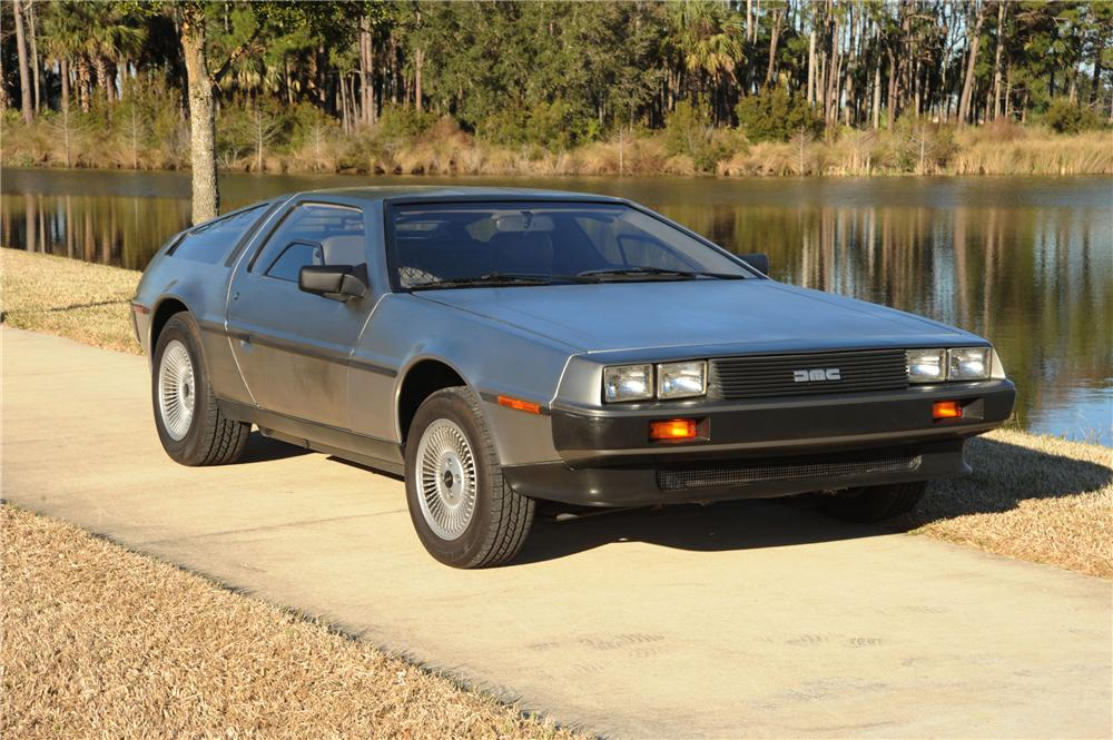 1981 DELOREAN DMC-12 GULLWING - Front 3/4 - 89049