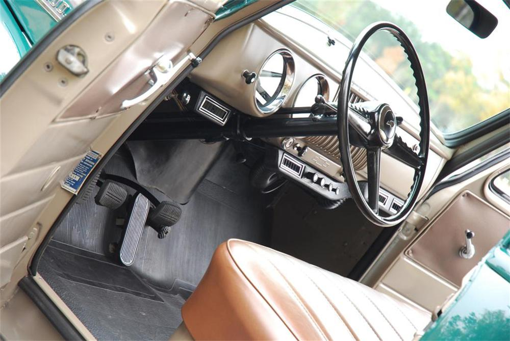 1954 CHEVROLET 3 WINDOW PICKUP - Interior - 89050