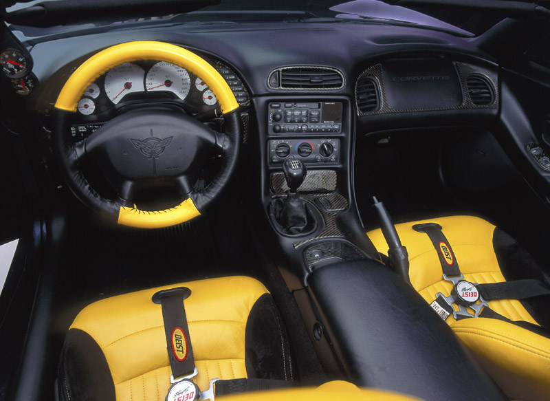 1999 CHEVROLET CORVETTE AVELATE CUSTOM CONVERTIBLE - Interior - 89052