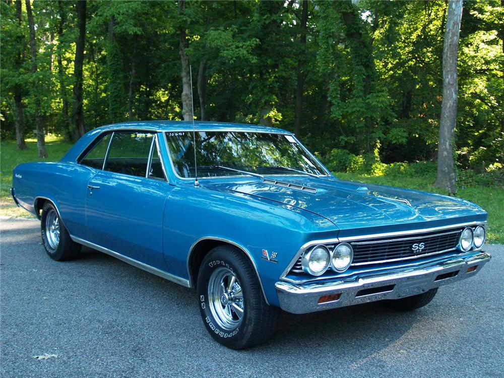 1966 CHEVROLET CHEVELLE SS 2 DOOR COUPE - Front 3/4 - 89053