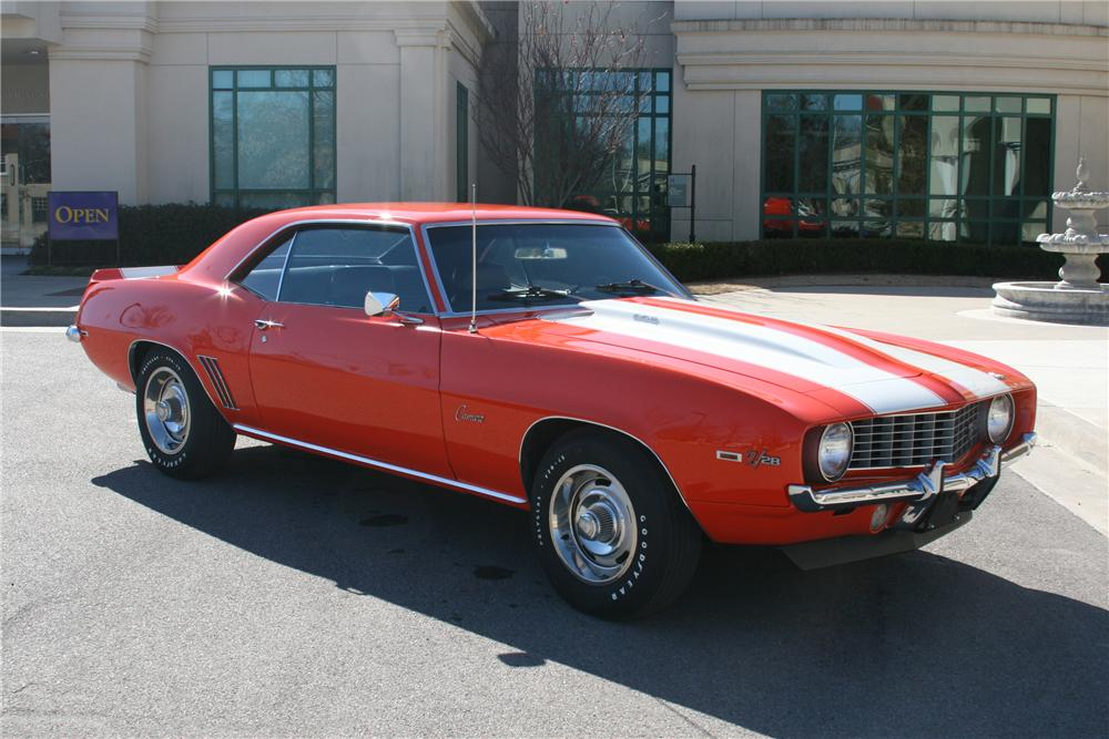1969 CHEVROLET CAMARO Z/28 2 DOOR COUPE - Front 3/4 - 89054