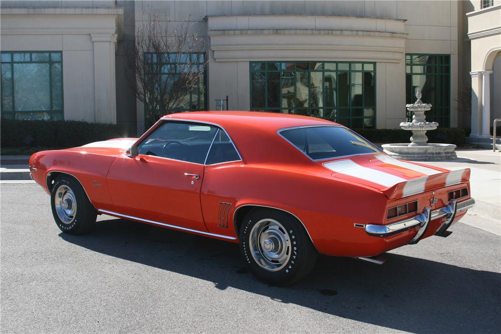 1969 CHEVROLET CAMARO Z/28 2 DOOR COUPE - Rear 3/4 - 89054