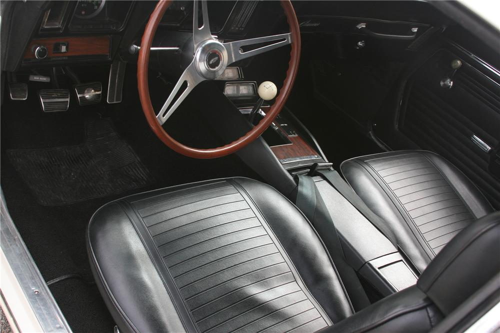 1969 CHEVROLET CAMARO Z/28 2 DOOR COUPE - Interior - 89055