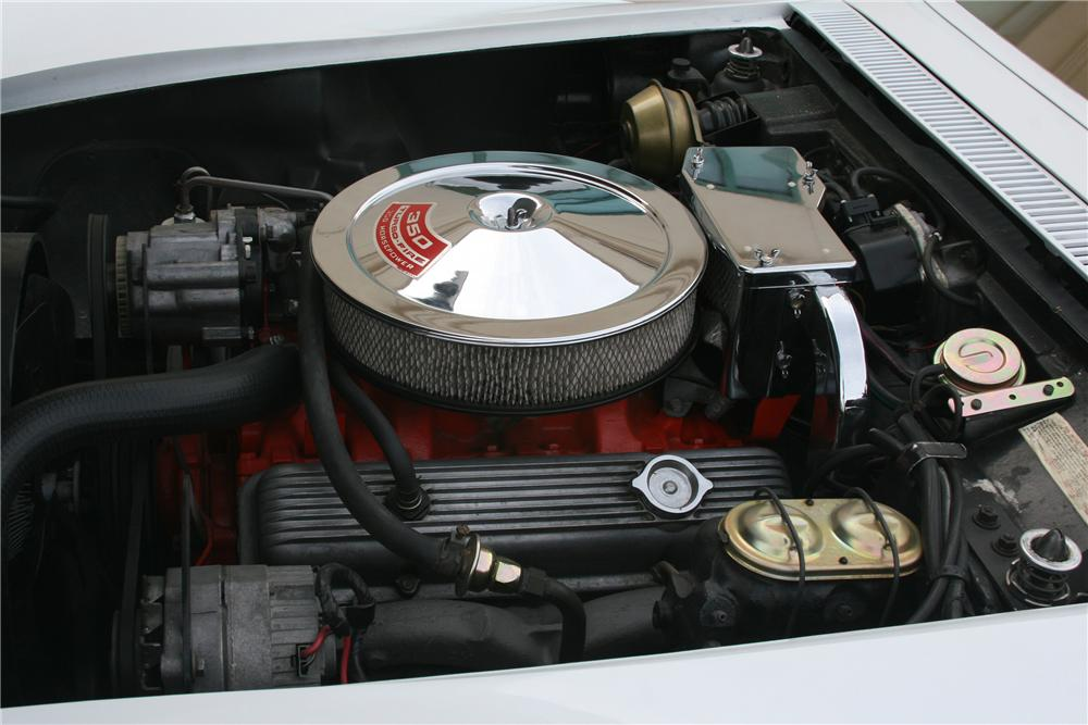 1969 CHEVROLET CORVETTE CUSTOM CONVERTIBLE - Engine - 89056