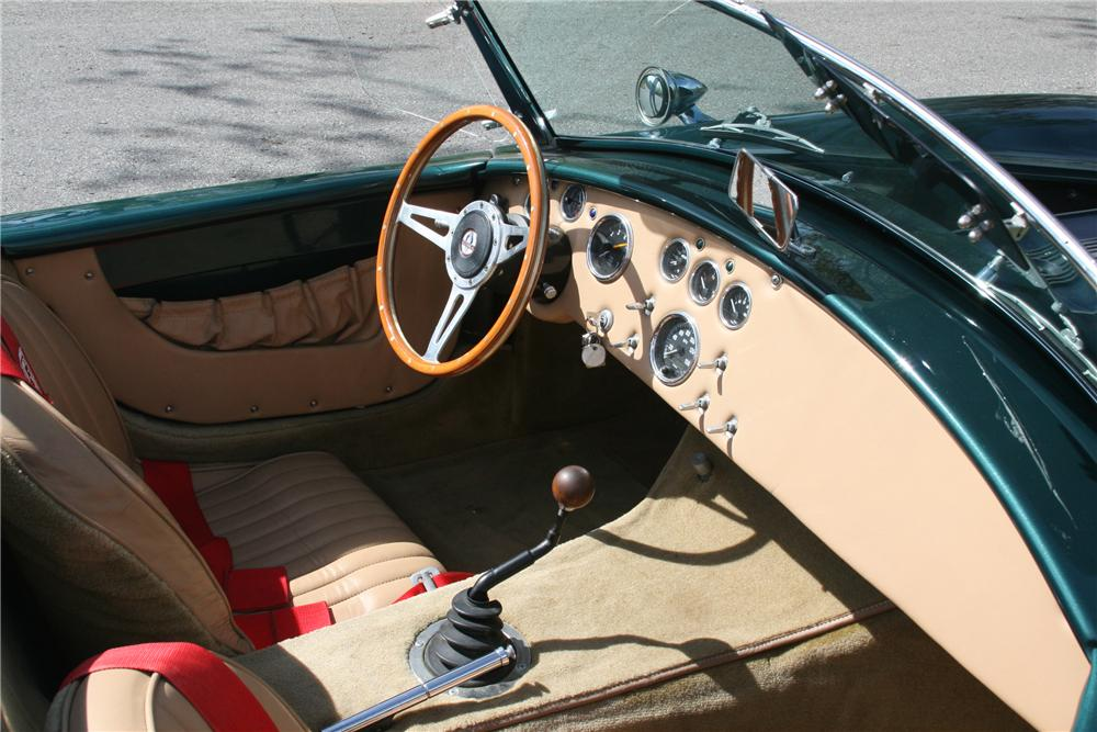 1966 SHELBY COBRA RE-CREATION ROADSTER - Interior - 89058