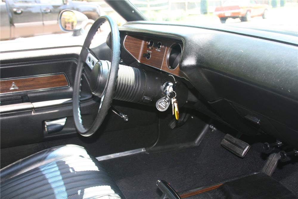 1973 DODGE CHALLENGER 2 DOOR COUPE - Interior - 89060